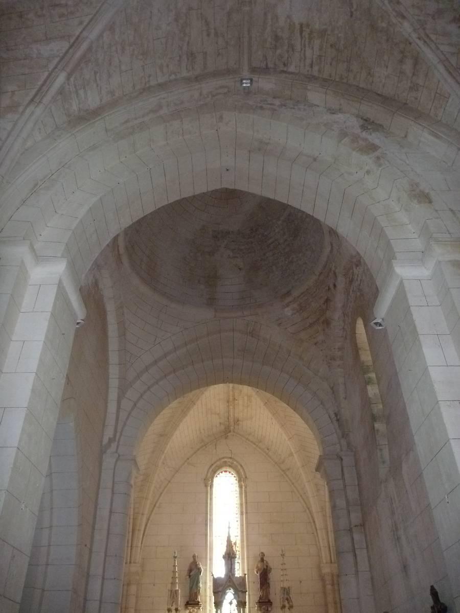 Criteuil-la-Magdeleine -16) église Saint-Jean-Baptise - La Sauvegarde de l'Art Français