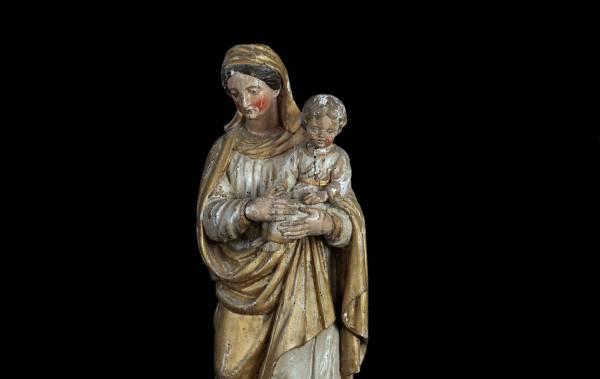 Vierge à l'enfant - Mirvaux