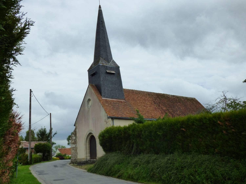 Bougy-lez-Neuville (45) Egl Saint Sulpice