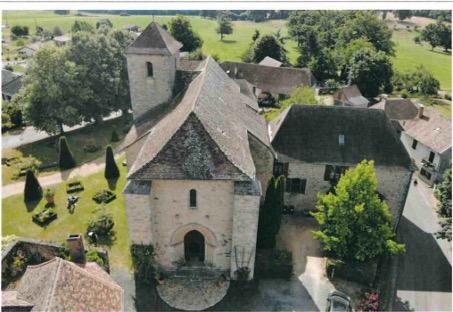Janailhac (87) - église Saint-Eutrope