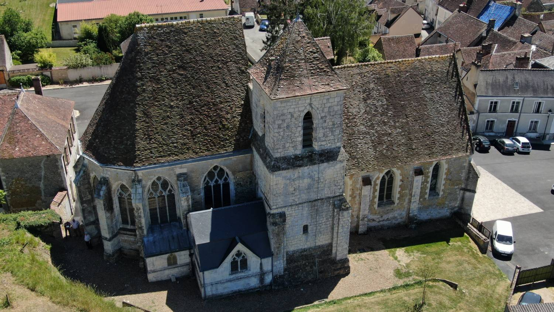 Souancé-au-Perche (28) - église Saint-Georges