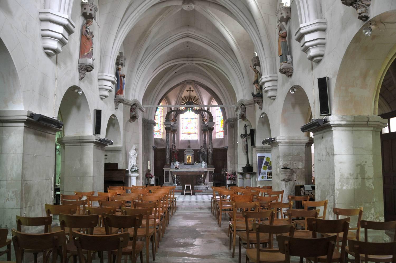 Les Mesneux (51) - église Saint-Rémi