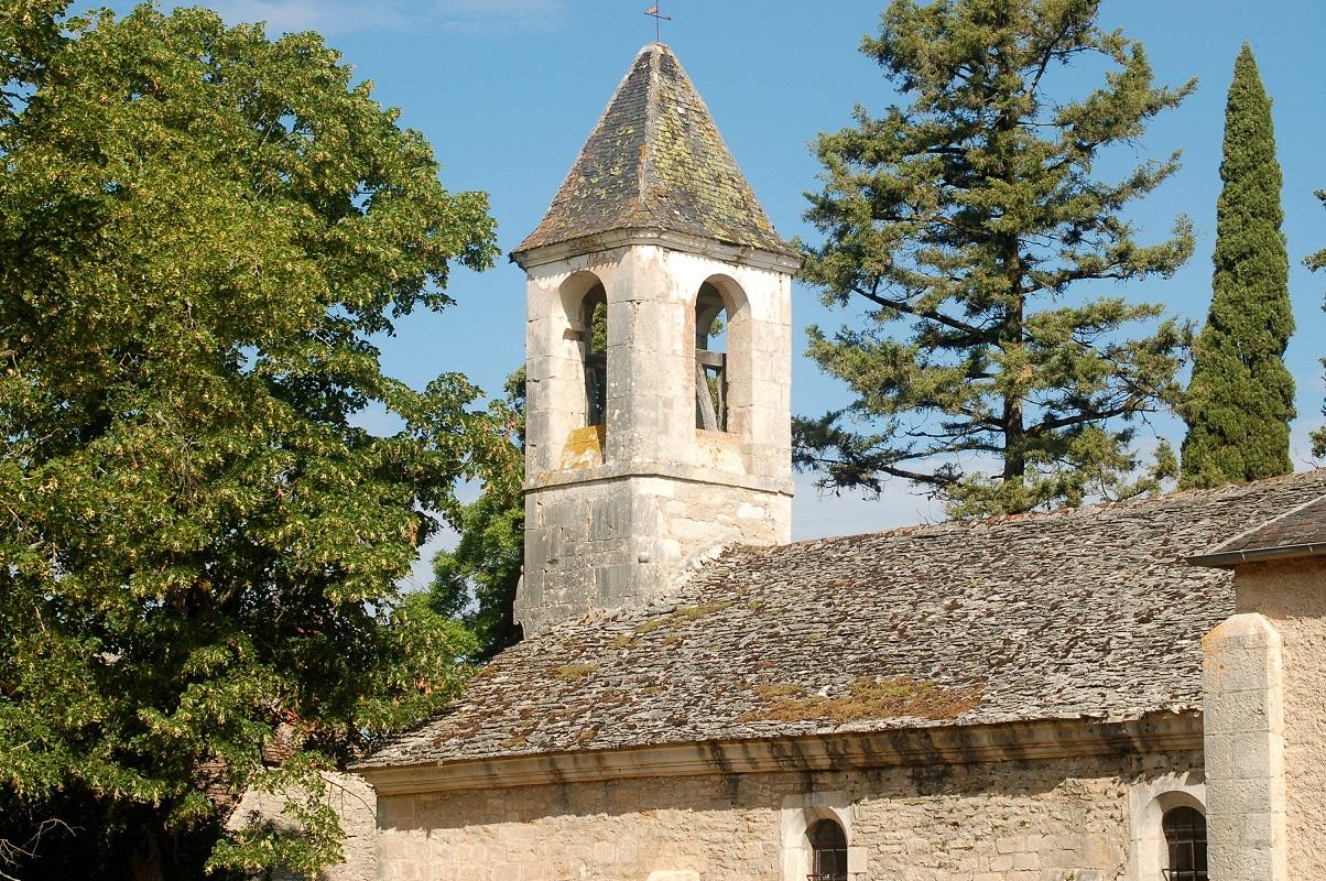Couzou (46) - Egise Saint-Cyr-et-Sainte-Julitte- Sauvegarde de l'Art Français