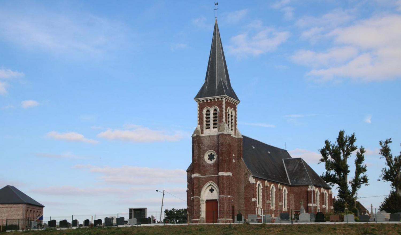 Quiestède (62) - église Notre-Dame La Voix du Nord