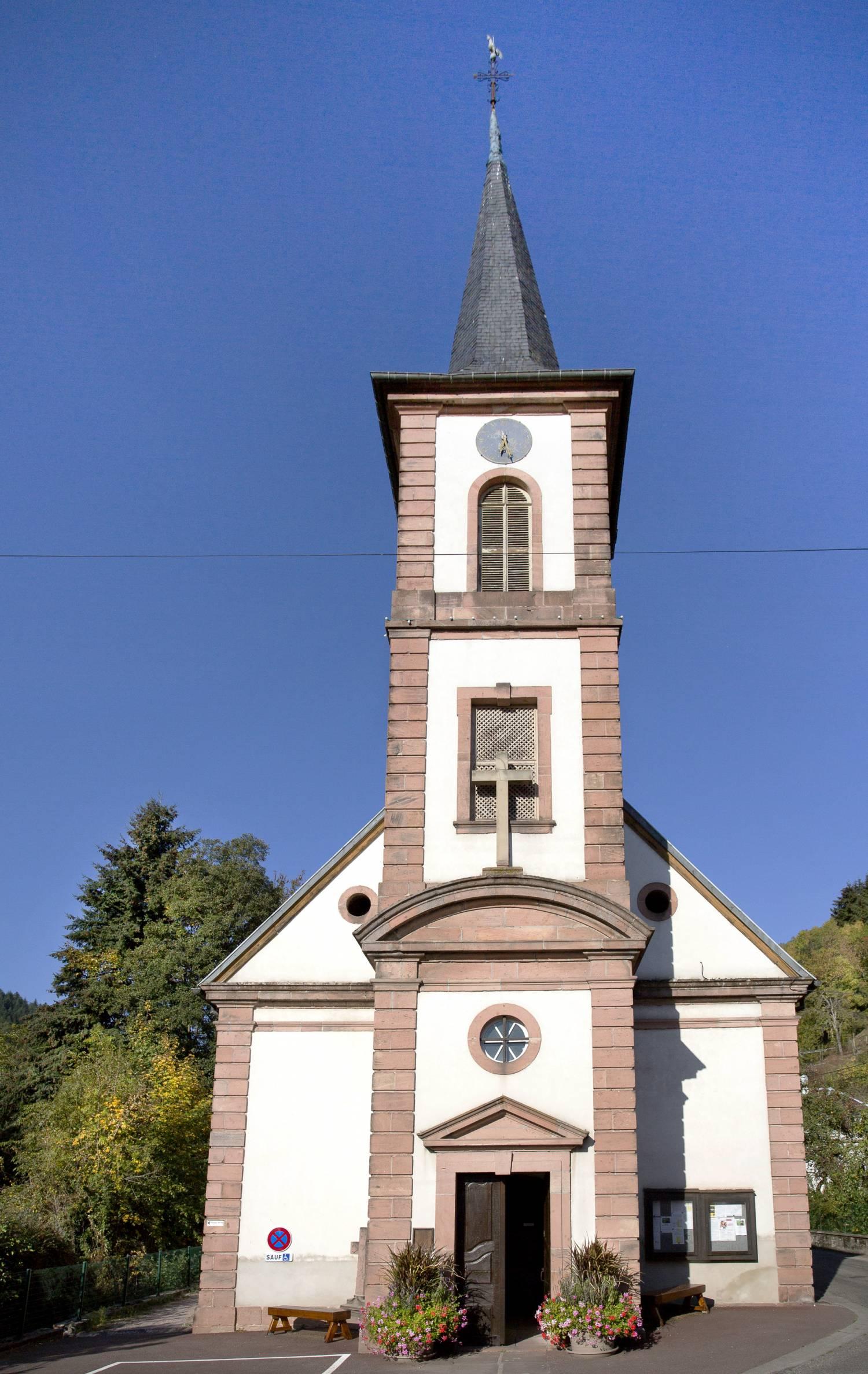 Lalaye - Eglise Ste Aurélie SAF
