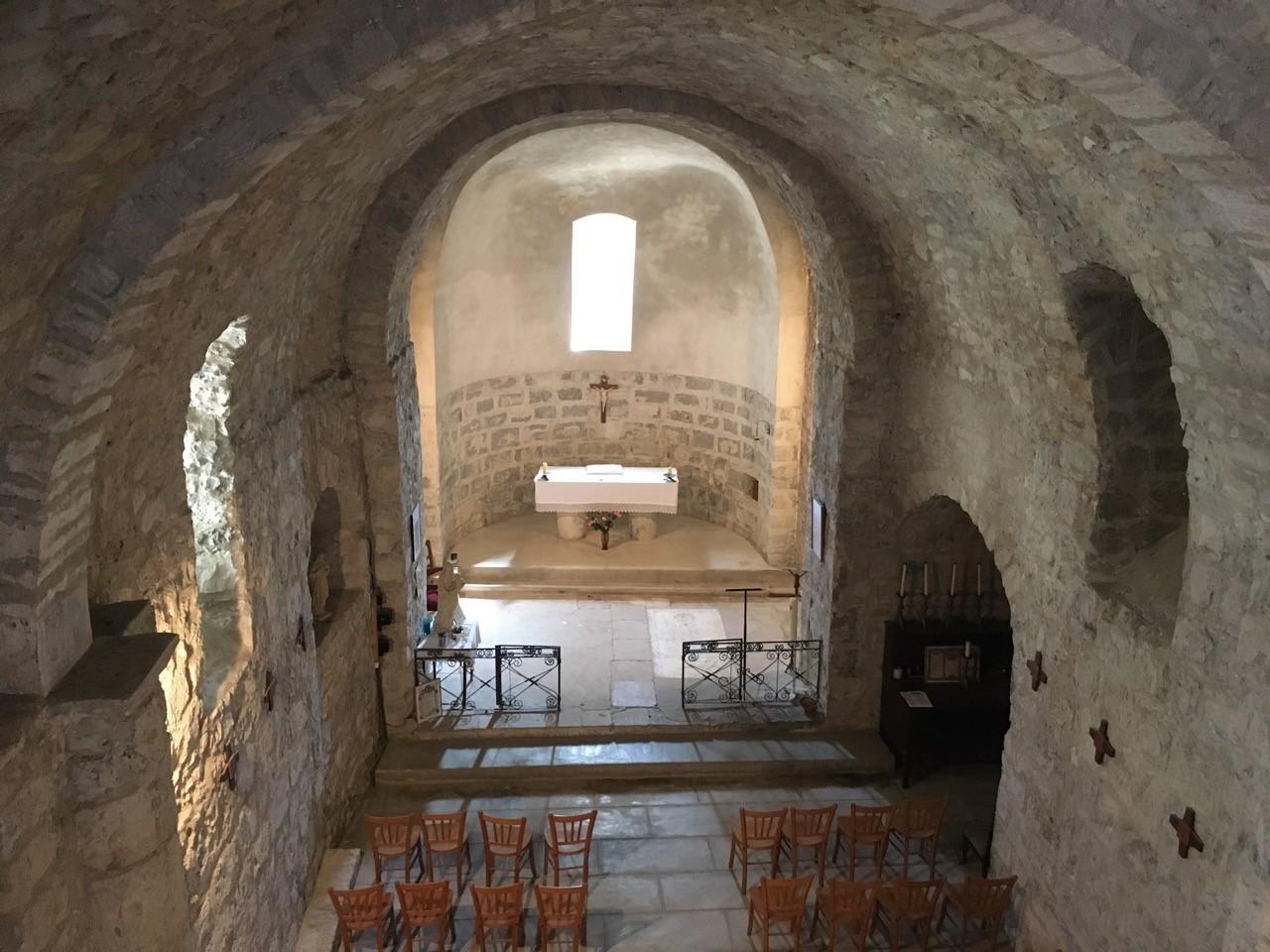 Cassagnoles (Gard) Eglise Saint-Martin