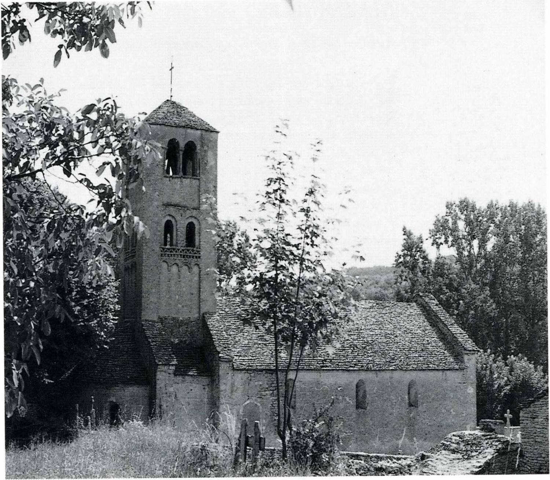massy (71) - église Saint-Denis