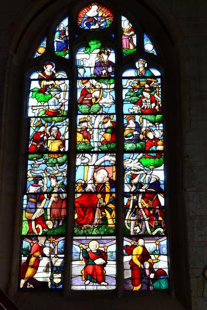 Le Mesnil-Simon (28) Eglise Saint-Nicolas Fondation La Sauvegarde de l'Art Français