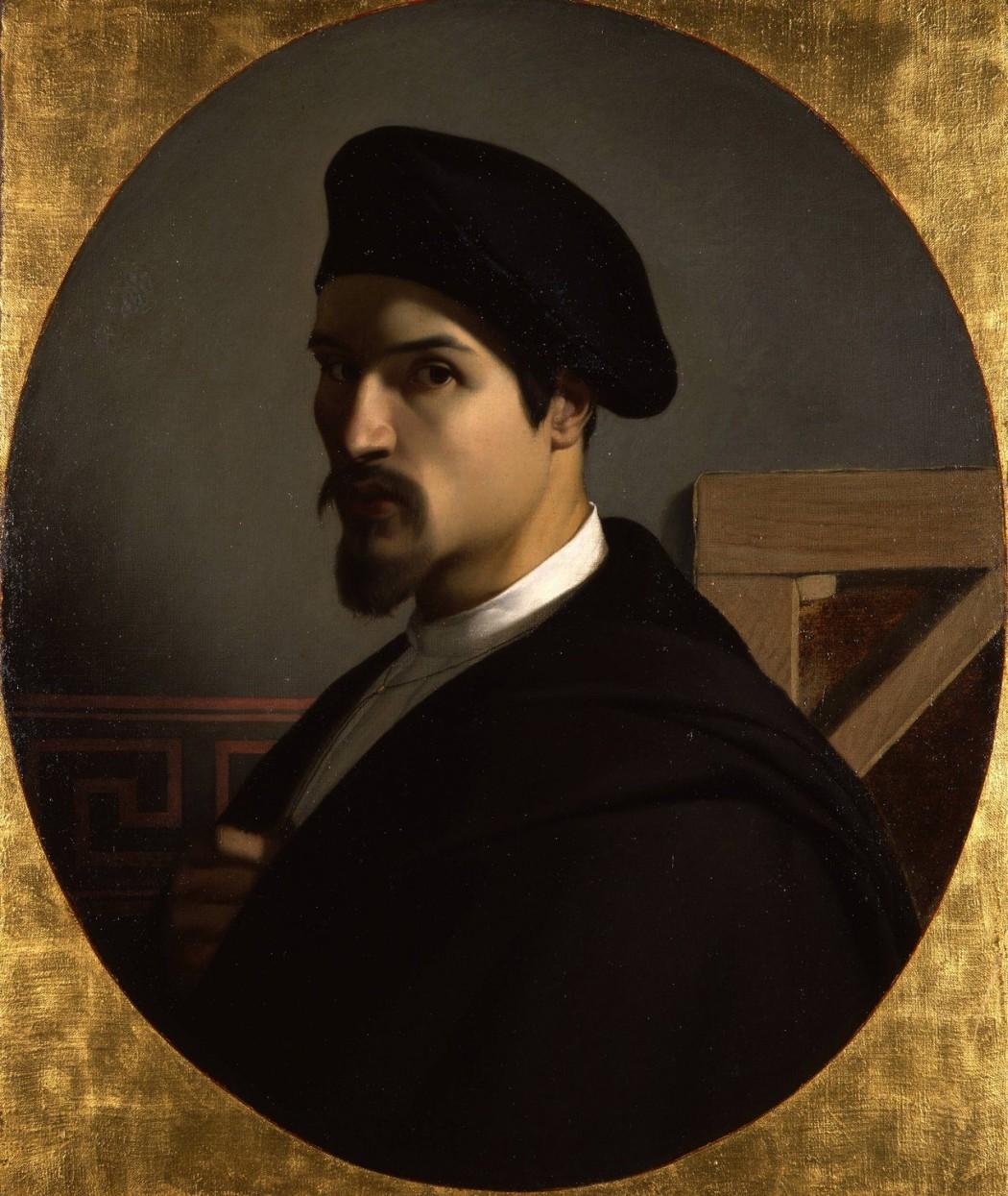 Michel Dumas, Autoportrait, v. 1838