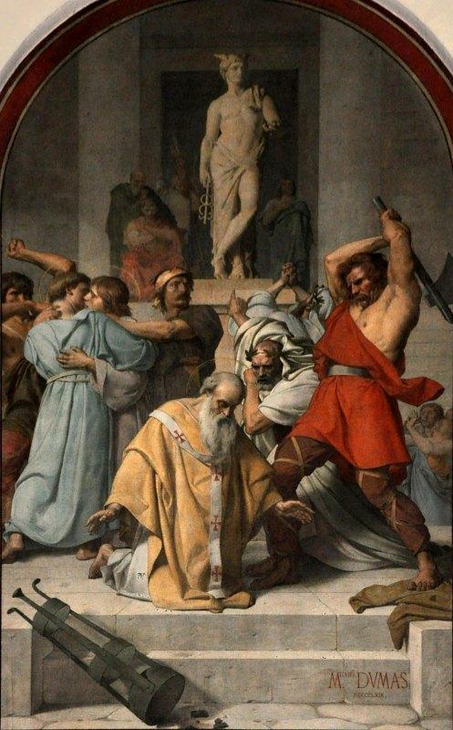 Michel Dumas - Saint Denis : Son Martyre, 1869