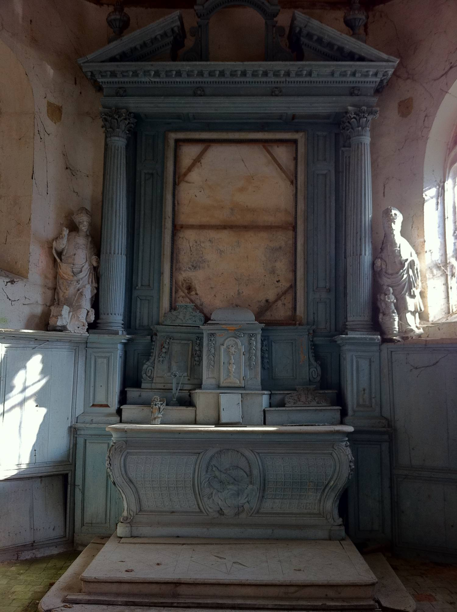 Maulette (78) Chapelle Saint Nicolas SAF