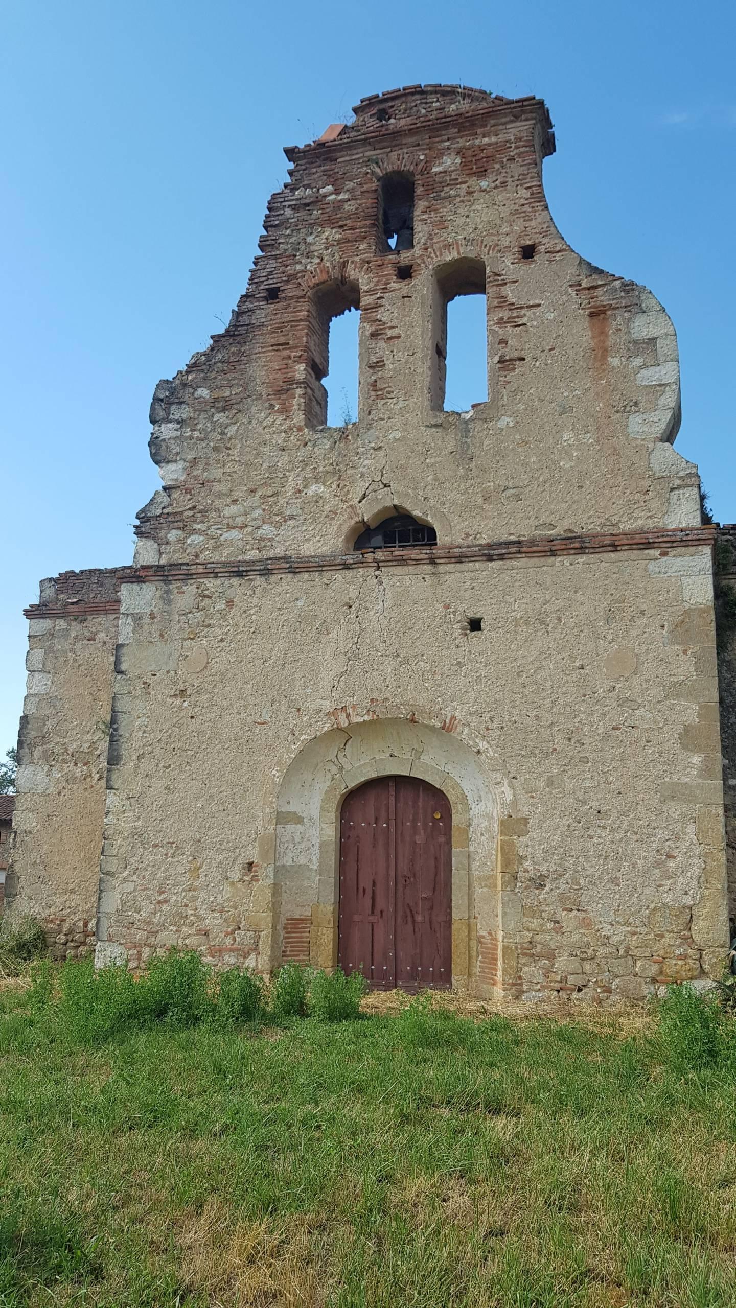 Sieuras (Ariège) Chapelle Saint-Laurent