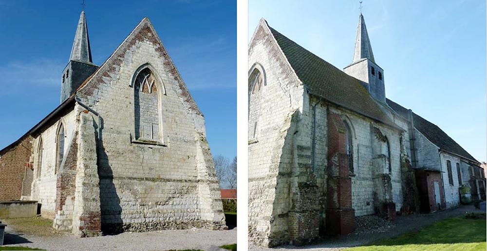 Nielles-les-Ardres (62) - église Saint-Pierre - La Sauvegarde de l'Art Français