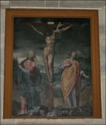 Christ en Croix – église Saint-Sulpice de Nogent-le-Roi (28)