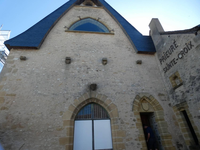 Buzançais (Indre) Chapelle du Prieuré Sainte-Croix - Sauvegarde de l'Art Français