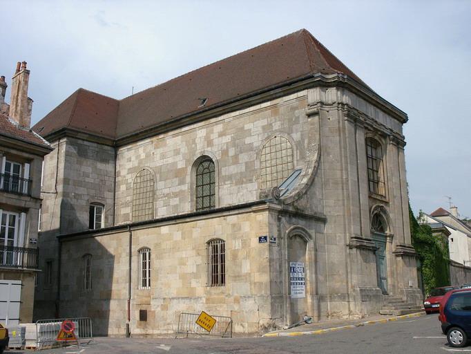 Langres (52) Chapelle des Carmes - la Sauvegarde de l'Art Français