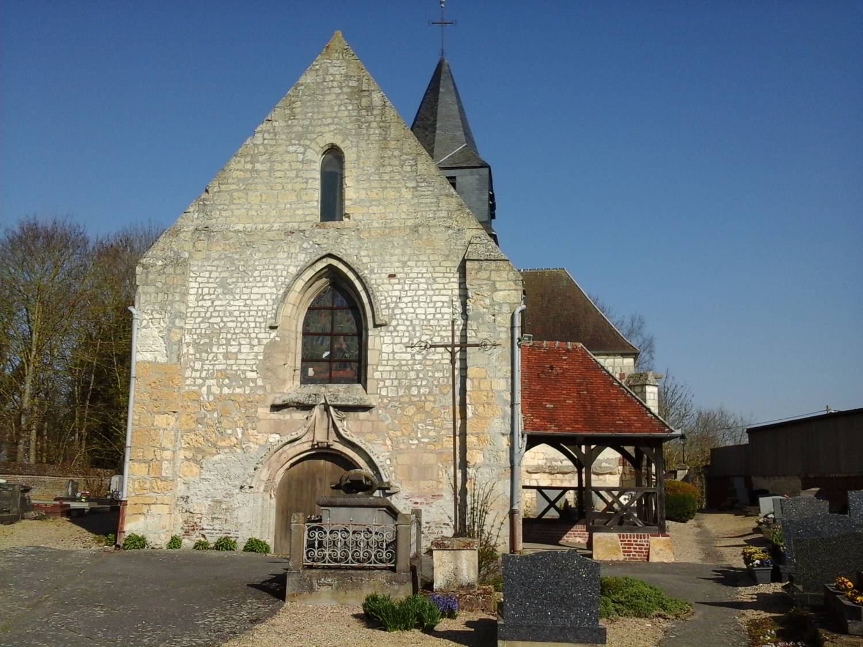 Angivillers (60) - église Saint-Martin