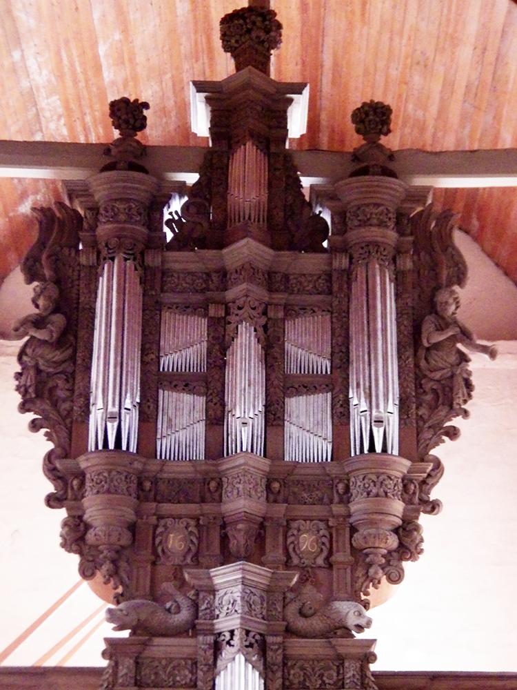 orgue, grand orgue Nielles-les-Ardres (62) - église Saint-Pierre - La Sauvegarde de l'Art Français