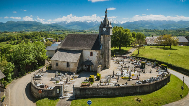 Orignac (65) Eglise saint-Martin - Sauvegarde de l'Art français
