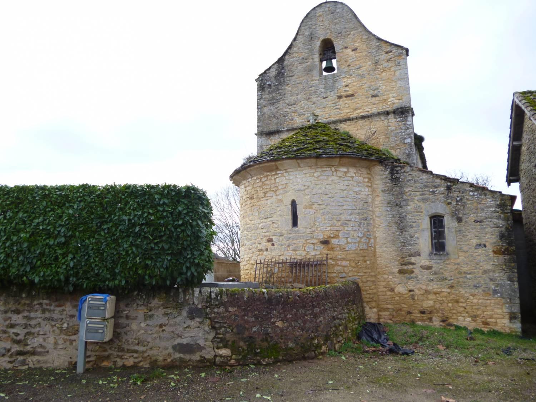 Villefranche-du-Périgord (24) Eglise Saint-Etienne-des-Landes - Sauvegarde de l'Art Français