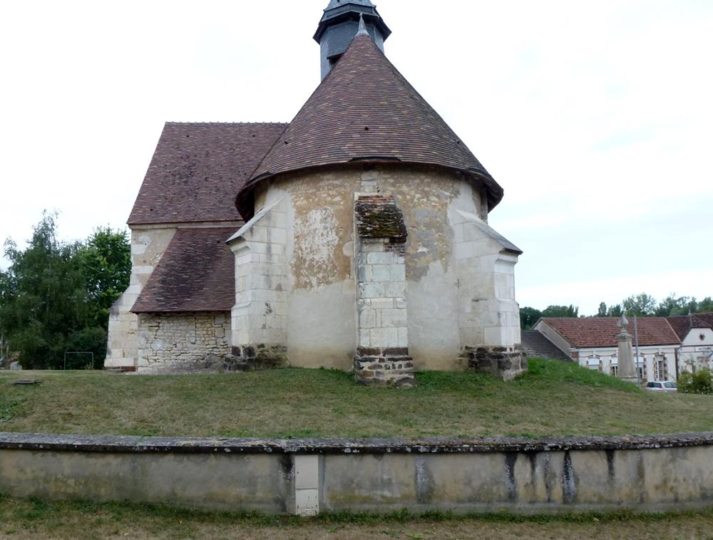 Saint-Maurice-le-Vieil (89) - église Saint-Léger - La Sauvegarde de l'Art Français