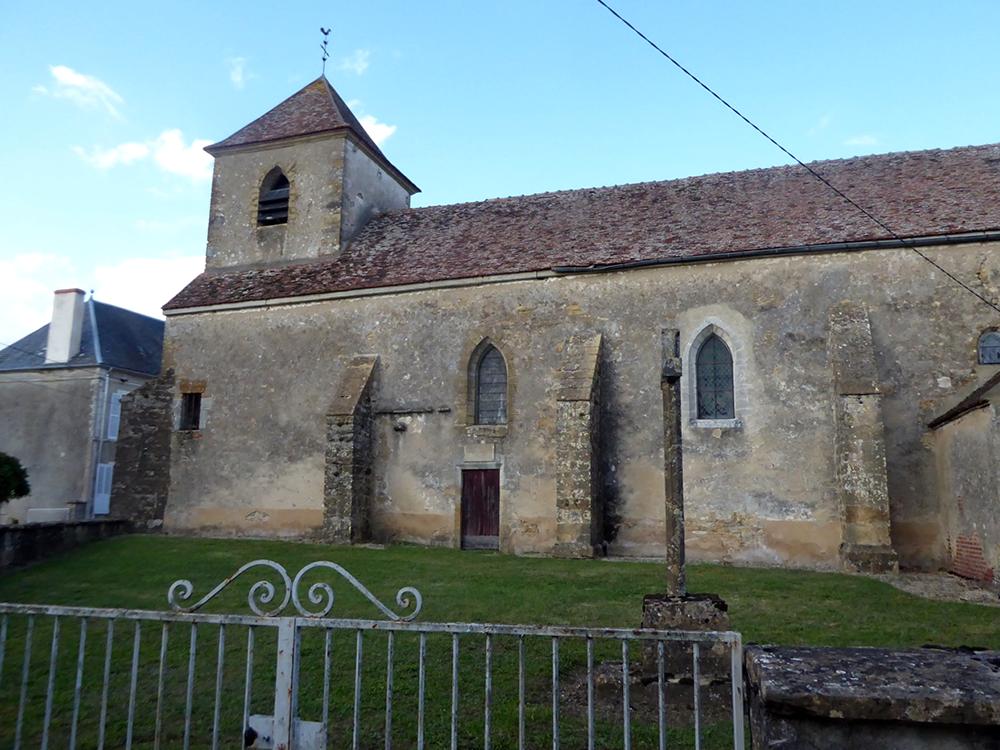 Menades (89) - église Saint-Nicolas - La Sauvegarde de l'Art Français