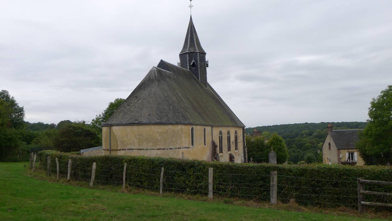 Saint-Martin-des-Pézerits (61) Eglise Saint-Martin - Sauvegarde de l'Art Français