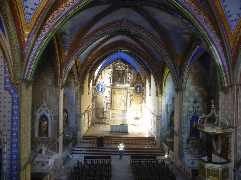 Limoux (11) Chapelle de la Miséricorde - Sauvegarde de l'Art français