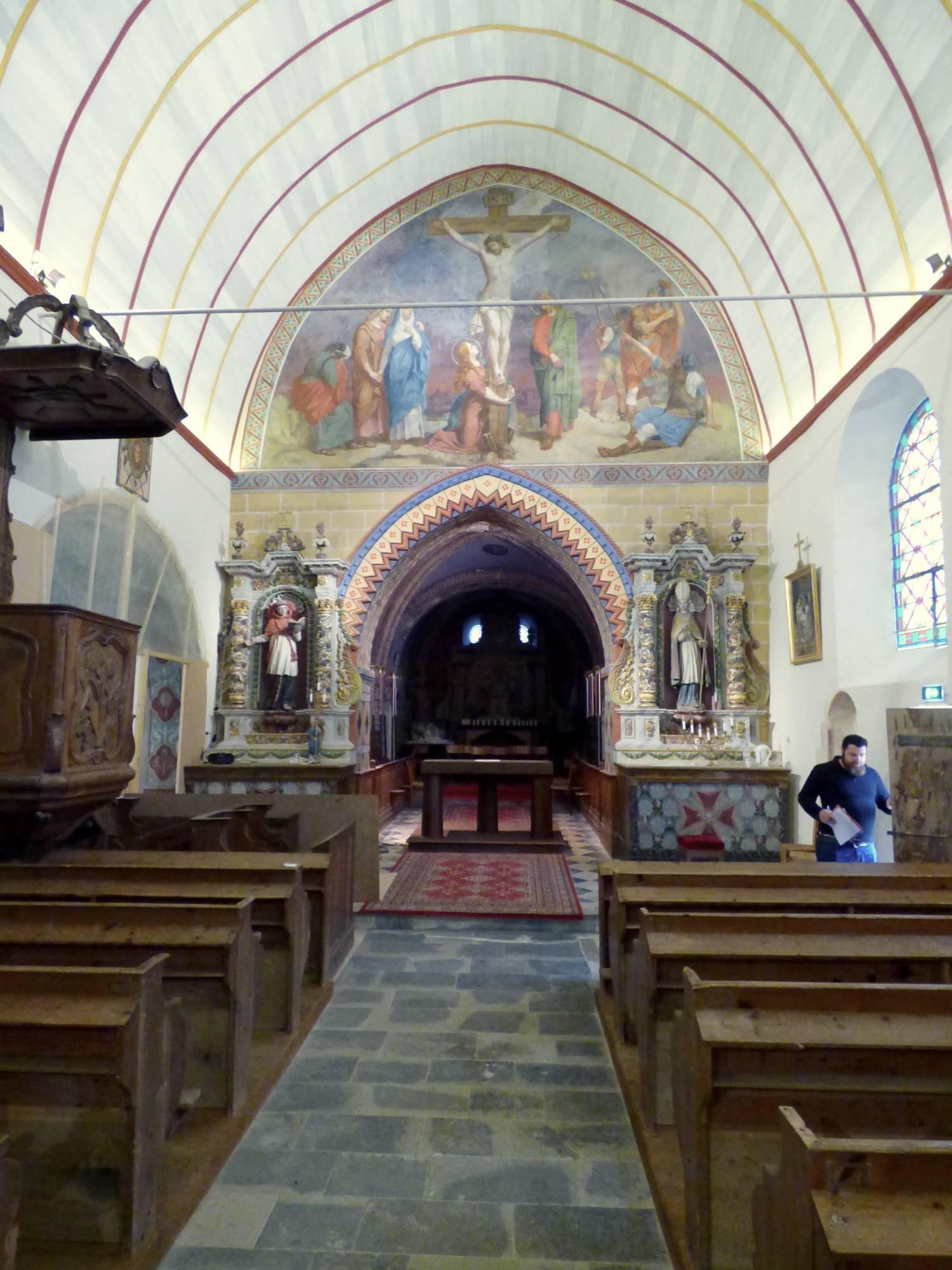 Auvillars (14) - église Saint-Germain - La Sauvegarde de l'Art Français