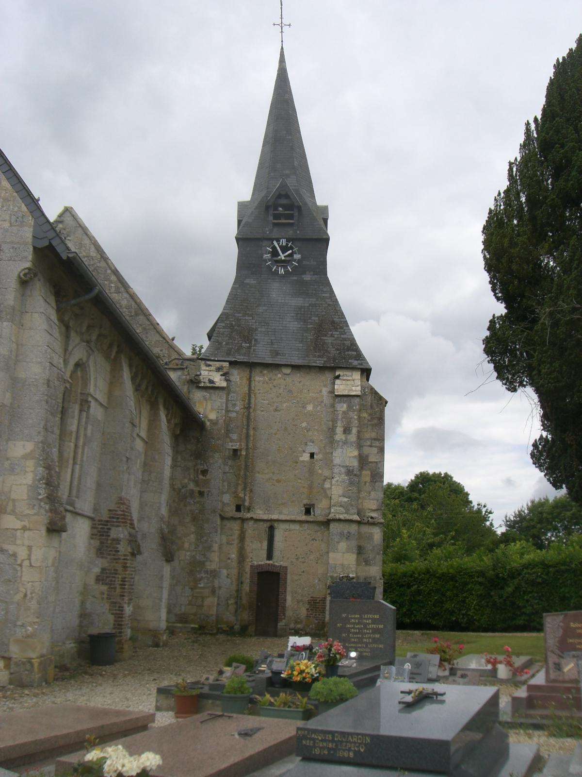 Branville (14) - Église Saint-Germain