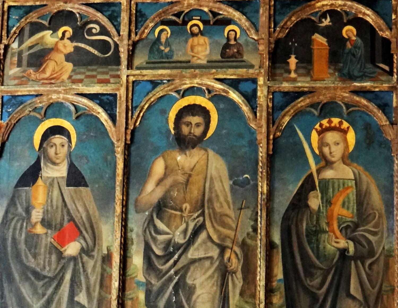 Triptyque de Saint-Jean Baptiste - Sauvegarde de l'Art Français