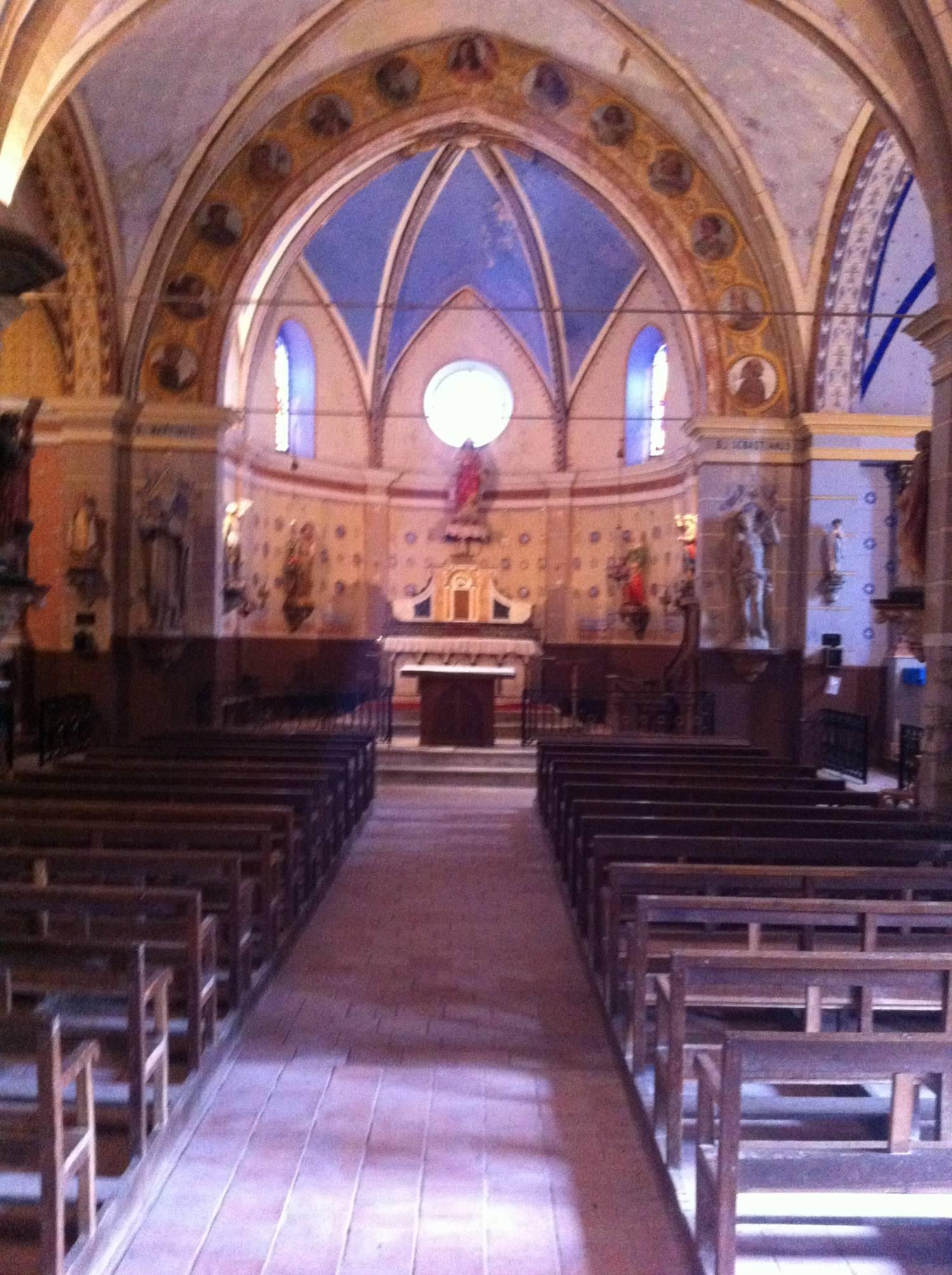 Fenouillet-du-Razès (11) Eglise Saint-Martin