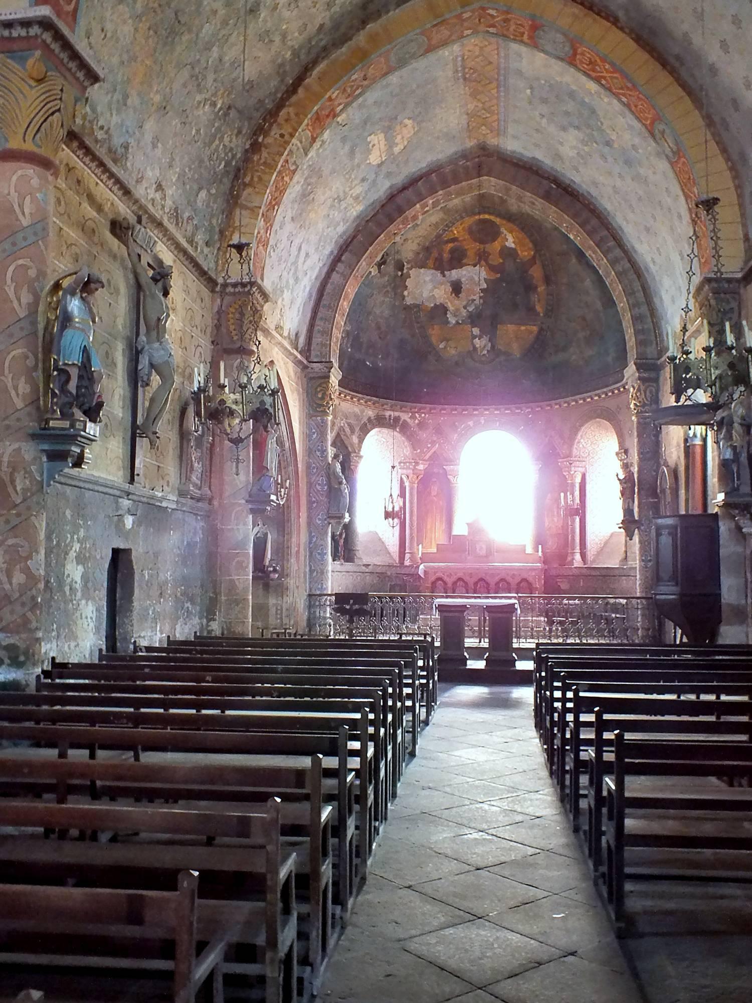 Louroux-Bourbonnais (03) Eglise Saint-Martin