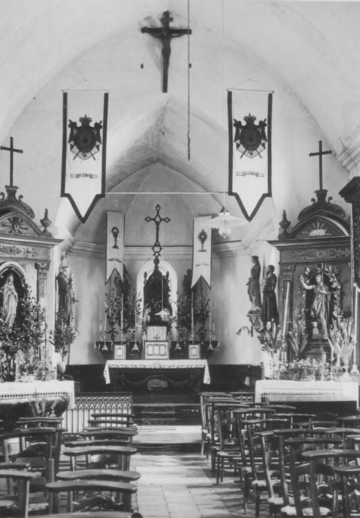 photo ancienne choeur Sachin coupe (62) - église Saint-Jean-Baptiste - La Sauvegarde de l'Art Français