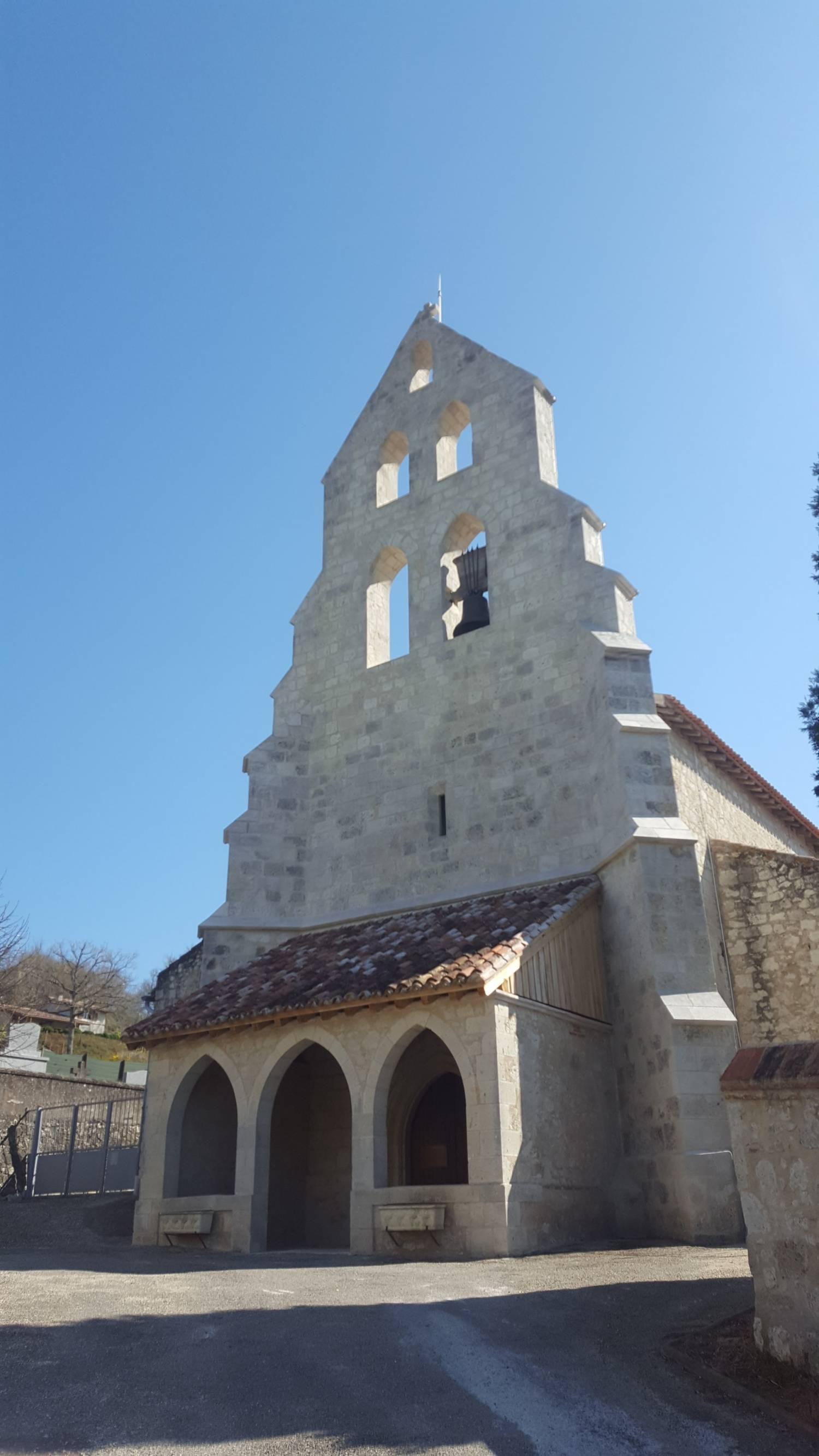 Goudourville (82) Eglise Saint-Julien-de-Brioude