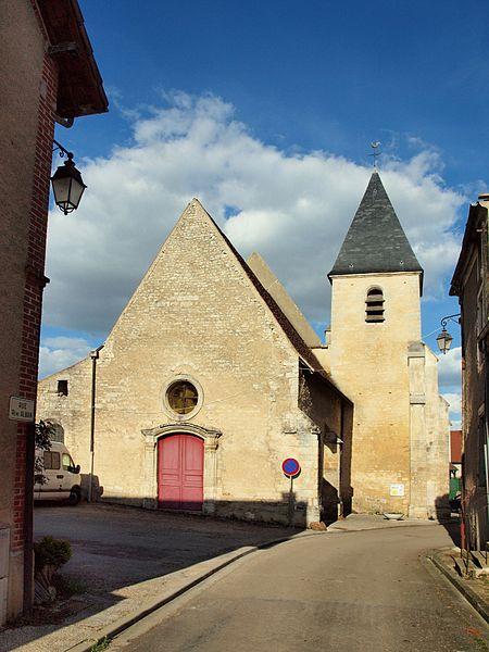 Val-de-Mercy (89) Eglise Saint-Aubin