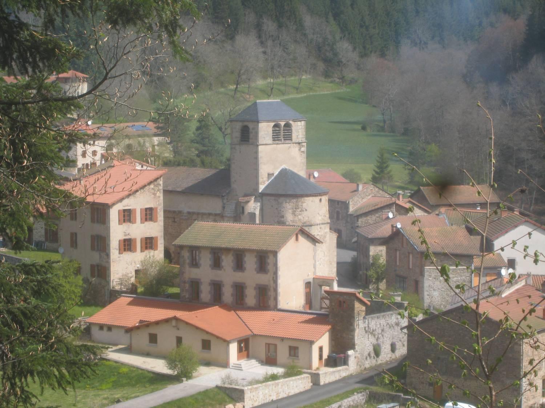 Saint-Vert (43) Eglise Saint-Jean-Baptiste- Sauvegarde de l'Art Français
