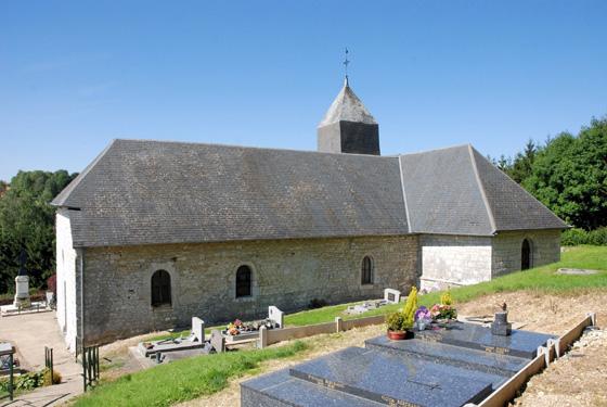 Logny-Bogny (08) - église Saint-Remacle