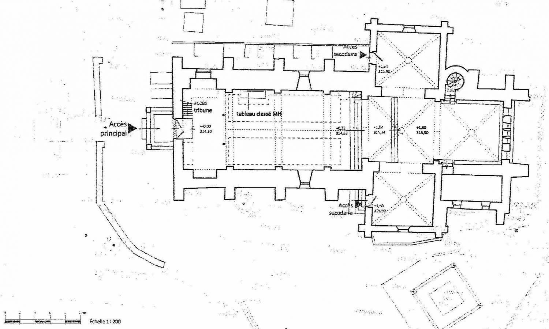 Plan Champagnat (71) -église ND de l'Assomption
