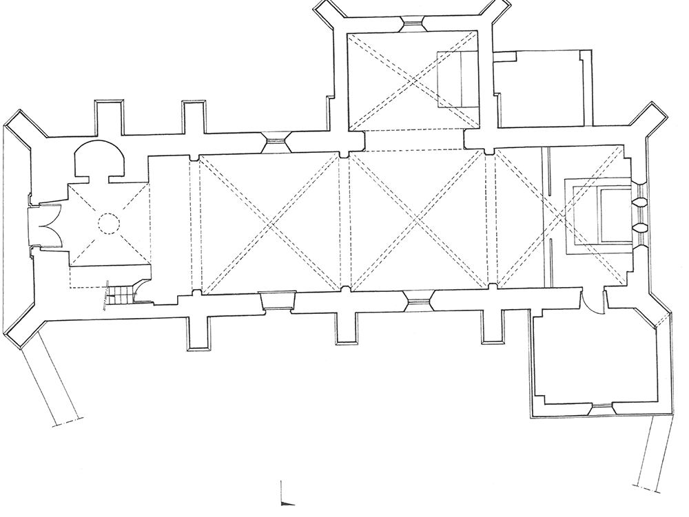 Plan Menades (89) - église Saint-Nicolas - La Sauvegarde de l'Art Français