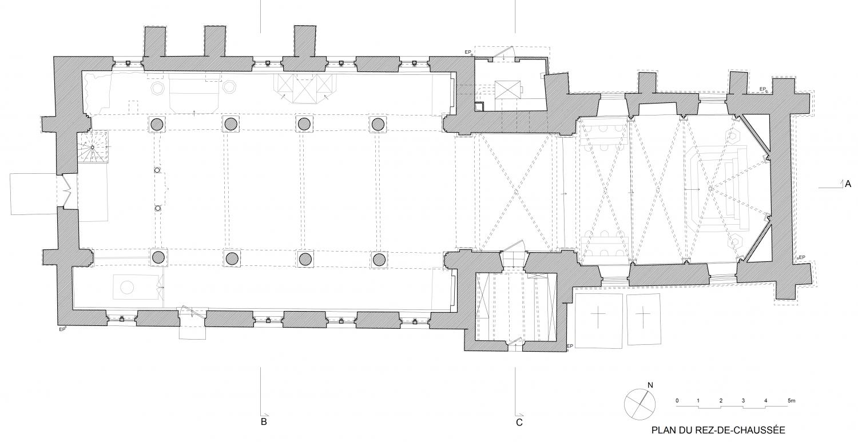 Plan Nielles-les-Ardres (62) - église Saint-Pierre - La Sauvegarde de l'Art Français