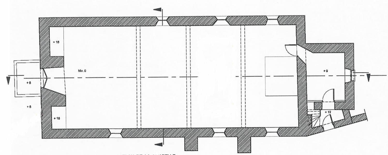 Plan Sonchamp (78) - chapelle de Greffiers - La Sauvegarde de l'Art Français