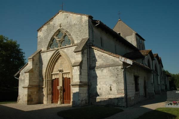 Courtisols (51) Eglise Saint-Memmie - Sauvegarde de l'Art Français