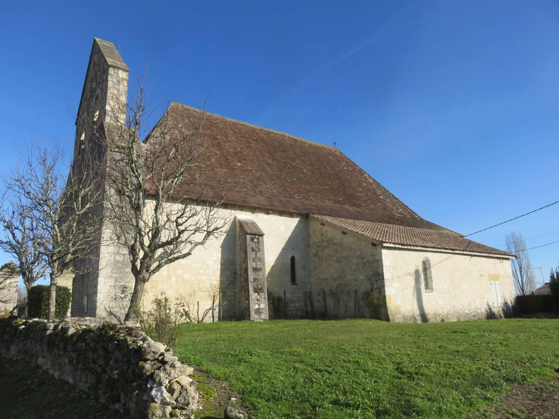 Tourliac (47) Eglise Saint-Jean-Baptiste - Sauvegarde de l'Art Français
