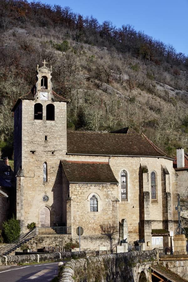 Larnagol (46) Eglise Saint-Pierre-ès-Liens - Sauvegarde de l'Art français