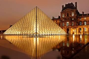 Actu du Patrimoine 7 - Pyramide Louvre SAF
