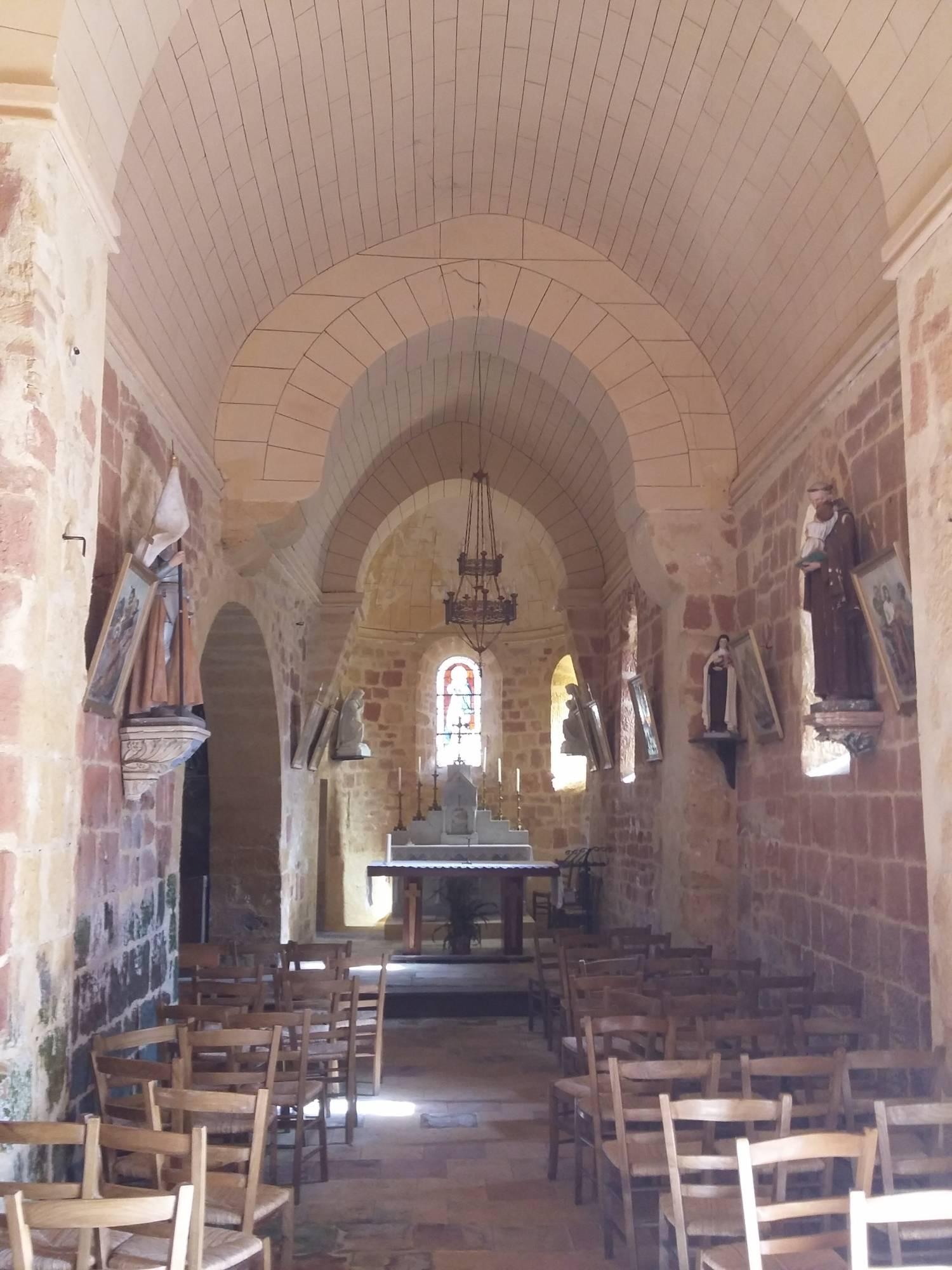 Lolme (24) Eglise Notre-Dame-de-la-Nativité - La Sauvegarde de l'Art Français