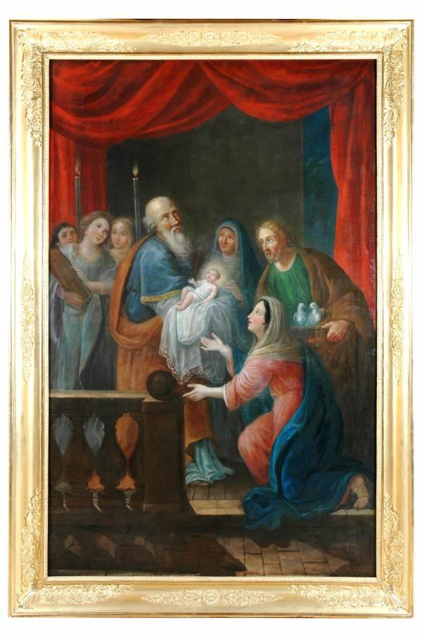 Détail du retable autel Berzé-la-Ville - La Sauvegarde de l'Art Français crédit: Anne-Marie-Gagnol, les Amis du Vieux Berzé