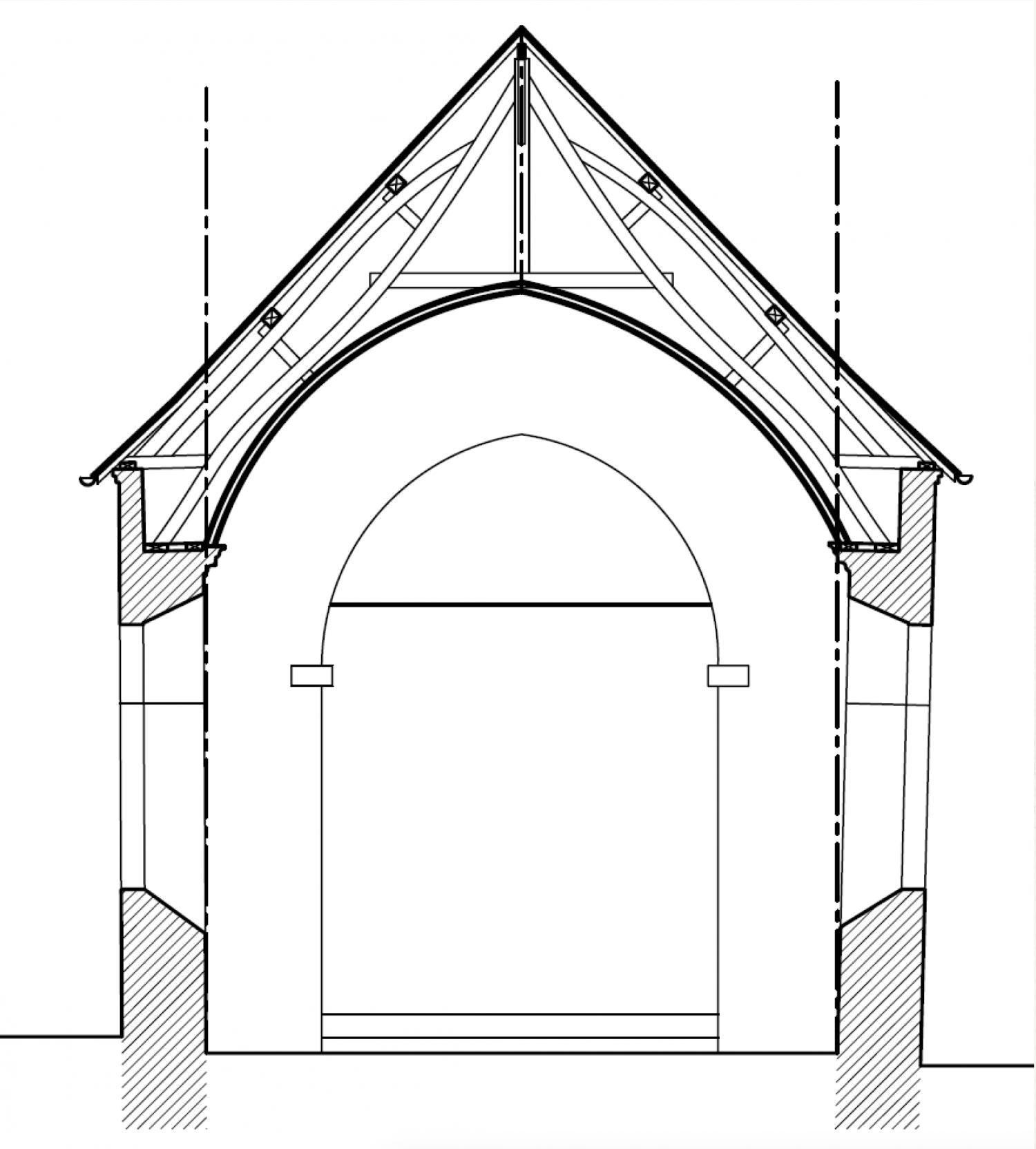 Sachin coupe (62) - église Saint-Jean-Baptiste - La Sauvegarde de l'Art Français