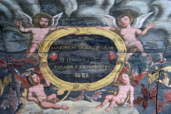 Saint-Paul-Lizonne (24) Eglise Saint-Pierre-et-Saint-Paul